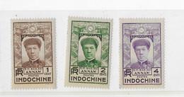 ⭐ Indochine N° 171 à 173**⭐ - Ungebraucht