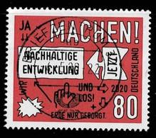 Bund 2020,Michel# 3525 O Nachhaltige Entwicklung - Used Stamps