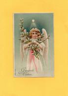 H2005 - Carte Gaufrée - Ange - Angels