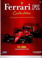§ FERRARI F1 Collection # 12 - F1-88C - 1988 Gerhard Berger - Booklet Fascicolo - Motori