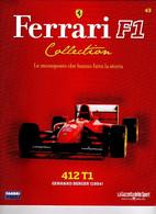 § FERRARI F1 Collection # 43 - 412 T1 - 1994 - G. Berger - Booklet Fascicolo - Motori