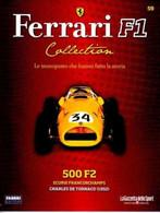 § FERRARI F1 Collection # 59 - 500 F2 - 1952 - C. De Tornaco - Booklet Fascicolo - Motori