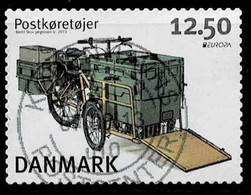 Dänemark 2013,Michel# 1738 O  Europa (C.E.P.T.) - Postfahrzeuge - Unused Stamps