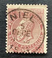 OBP 49 Gestempeld EC NIEL - 1884-1891 Leopoldo II