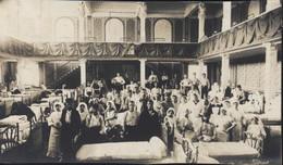 Guerre 14 Photo Photographie Hôpital Auxiliaire N°30 Calvados Casino Trouville Sur Mer 1915 Dortoir Blessés Soignants - War, Military