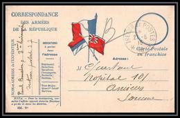 1099 Guerre 1914/1918 Secteur Postal 18 Carte Postale En Franchise (postcard) - Guerra Del 1914-18