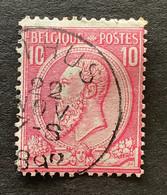 OBP 46 Gestempeld EC ATHUS - 1884-1891 Leopoldo II