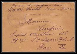 2929 Lettre France Guerre 1914/1918 Santé Hopital Temporaire N°90 Picoulet Cosne Nièvre 1917 - Guerra Del 1914-18