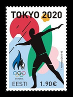 Estonia 2021 Mih. 1015 Olympic Games In Tokyo MNH ** - Estland