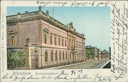 AK Pforzheim Reichspostgebäude (8-441) - Pforzheim