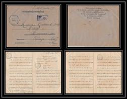 7099/ Carte De Prisonnier De Guerre (War) 1914/1918 Kriegsgefangenen Giessen Pour Rouvenac Aude 1917 + Courrier - Oorlog 1914-18
