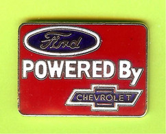 Pin's Automobile Ford Powered By Chevrolet - 3Y23 - Ford