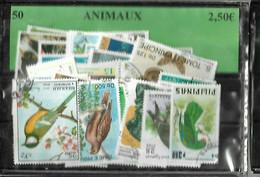 50 TIMBRES ANIMAUX - Sin Clasificación