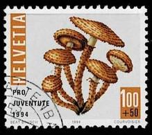 Schweiz 1994,Michel# 1539 O  Pilz - Gebruikt