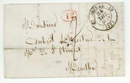 DIEUZE 1833 Pour La Manufacture De Saint-Clement - 1801-1848: Voorlopers XIX