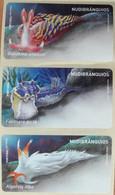 Portugal - Etiquetas ATM - Never Used (no Tax) MNH - Full Set - NUDIBRÂNQUIOS (lesmas Marinhas / Sea Slugs) 2020/21 - Automatenmarken (ATM/Frama)
