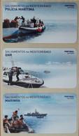 Portugal - Etiquetas ATM - Never Used (no Tax) MNH - Full Set - SAVINGS IN SEA - Marine, Guard, Maritime Police 2020/21 - Automatenmarken (ATM/Frama)