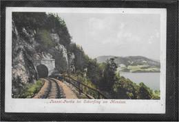 AK 0712  Scharfling Am Mondsee - Tunnel-Partie / Verlag Brandt Um 1900-1910 - Mondsee