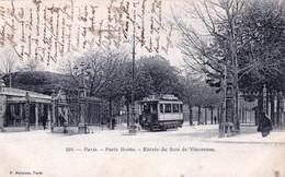 75 - PARIS 12 - Porte Dorée - Entrée Du Bois De Vincennes - Paris (12)