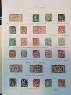 Frankreich Sammlung Cachets Des Journaux Zeitungsstempel  Auf Albumblatt - 1877-1920: Periodo Semi Moderno