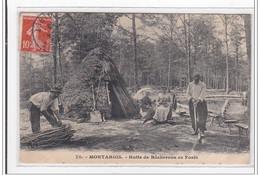 MONTARGIS : Hutte De Bucherons En Foret - Etat - Montargis