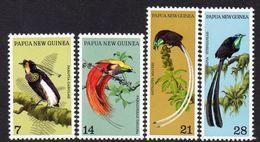 PAPUA NEW GUINEA, 1973 BIRDS OF PARADISE 4 MNH - Papoea-Nieuw-Guinea