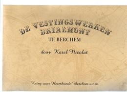 18 05 T..//   DE VESTINGSWERKEN BRIALMONT  K NICOLAI   61 P  RIJK GEILLUSTREERD  !!! - Non Classificati