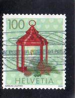 2020 Svizzera - Natale - La Lanterna - Used Stamps