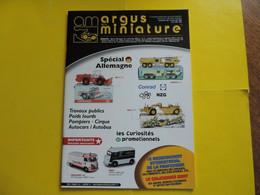 3 Numéros Argus De La Miniature Auto CONRAD NZG JRD 2CV BROOKLIN DURHAM REXTOYS - Literature & DVD