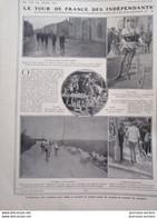 1910 CYCLISME - LE TOUR DE FRANCE DES INDÉPENDANTS - PEUGEOT - BELFORT - R. GUÉNOT - 1900 - 1949