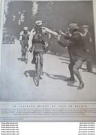 1911 CYCLISME - LE TOUR DE FRANCE - GARRIGOU VAINQUEUR - LONDINIERES - SAINT VALERY EN CAUX - VEULES LES ROSES - Non Classificati