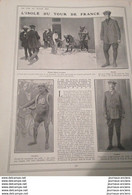 1911 CYCLISME - TOUR DE FRANCE - L'ISOLÉ DU TOUR DE FRANCE - DEMAN - Non Classificati