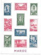 Carte(2) Pub. Labo. Maroc Et Afrique Française - Colecciones
