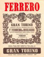 "BK12403 "" GRAN TORINO-F.LLI FERRERO DI RICCARDO-TORINO ""ETICH. D'EPOCA - Other"