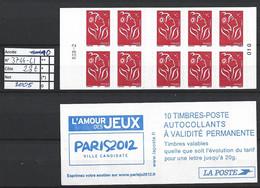 ANNEE 2005 SPLENDIDE LOT DE LUXE CARNET NON PLIER N° 3744-C1 NEUF (**) CÔTE 23.00€ Y&T A SAISIR!!!!!! - Commemoratives