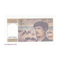 20 FRANCS DEBUSSY 1990 NEUF Fayette 66bis.1 - 20 F 1980-1997 ''Debussy''