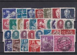 DDR, Kpl. Jahrgang 1950, Gest. (Kk 6984) - Used Stamps