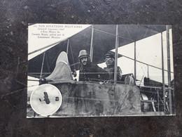 Nos Aviateurs Militaires–Gl Gilinski,chef D'état-major De L'armée Russe Et Le Lieut.Marzac - Airmen, Fliers
