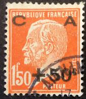 248 ° Pasteur Surchargée CA Caisse Amortissement Oblitéré - Nuovi