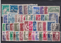 DDR, Kpl. Jahrgang 1952, Gest. (Kk 6986) - Used Stamps