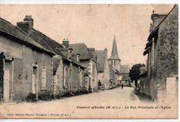 Chemiré S/Sarthe-La Rue Principale Et L'Eglise - Otros Municipios