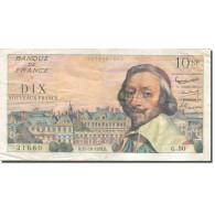 France, 10 Nouveaux Francs, Richelieu, 1959, 1959-10-15, SUP, Fayette:57.3 - 10 NF 1959-1963 ''Richelieu''