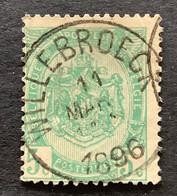 OBP 56 Gestempeld EC WILLEBROECK - 1893-1907 Wapenschild