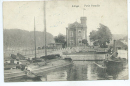 Liège Petit Paradis ( Péniche ) - Luik