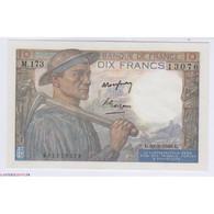 Billet 10 Francs Mineur 10-03-1949 SPL+ L'ART DES GENTS Numismatique Avignon - 10 F 1941-1949 ''Mineur''