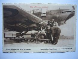 Avion / Airplane / BELGIAN AIR FORCE / Fairey Fox II / Seen At Schaffen Airport - 1939-1945: II Guerra