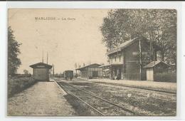 01 Ain Marlieux La Gare Ed Ravier Bourg - Otros Municipios