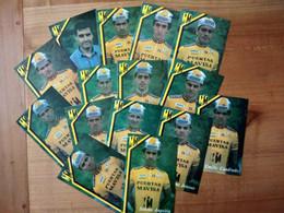 Cyclisme - 15 Cartes Publicitaires PUERTAS MAVISA 1989 - Ciclismo