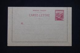 ALGÉRIE - Entier Postal ( Carte Lettre ) Non Circulé - L 98658 - Brieven En Documenten