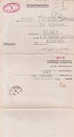 """FRANCE : GUERRE . LETTRE . D'UN PG . INTERNE CIVIL . """" ILAG VIII """" . 1941 . - Oorlog 1939-45"""